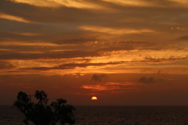 海中公園からの夕景